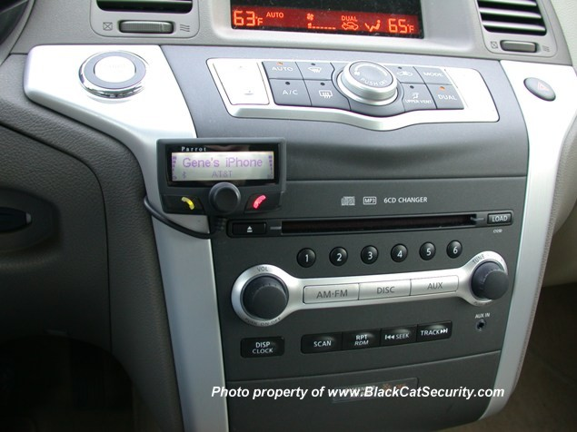 2010 Nissan Murano Bluetooth Phone System Automotive